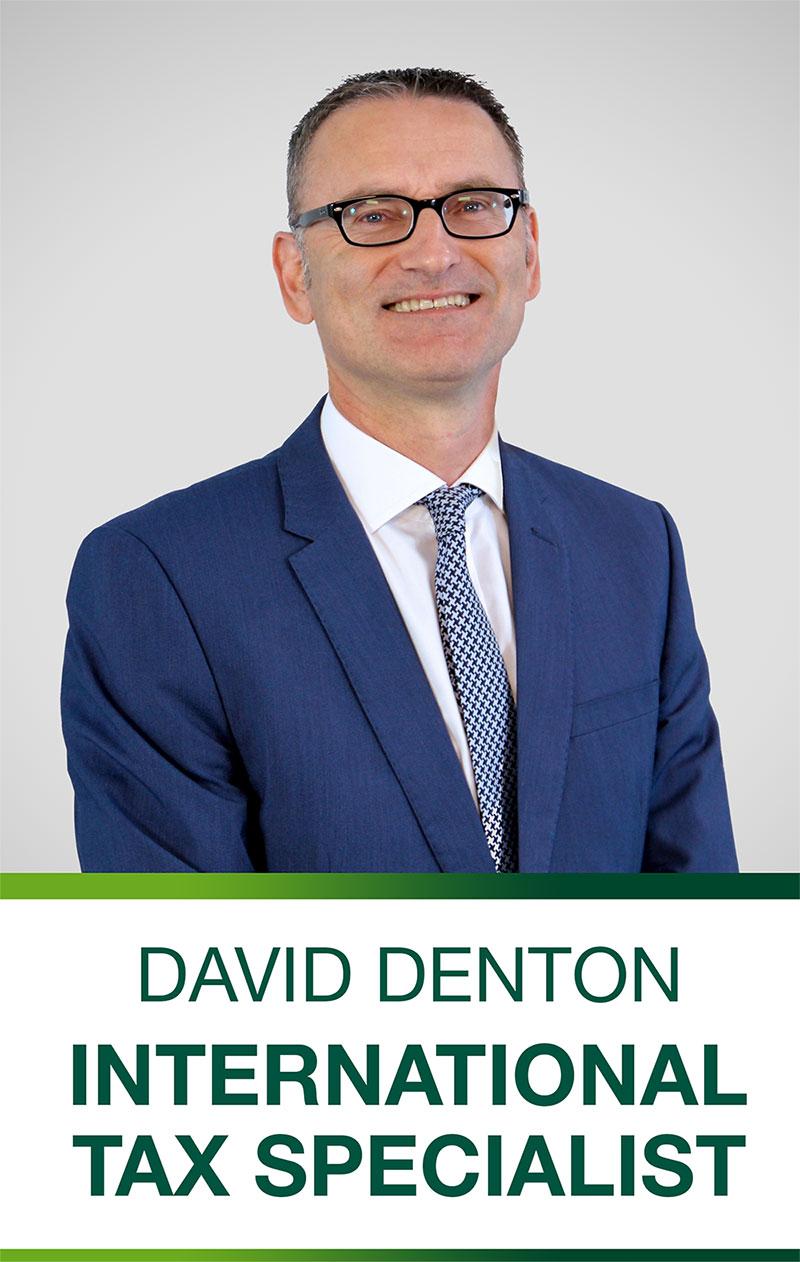 David Denton,International Tax Specialist